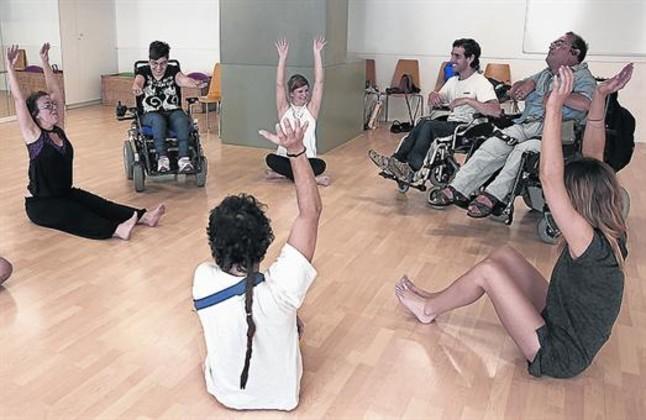 DEPORTISTAS. Algunas actividades para personas con discapacidad.