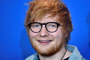 El cantante, compositor y guitarrista británico Ed Sheeran.