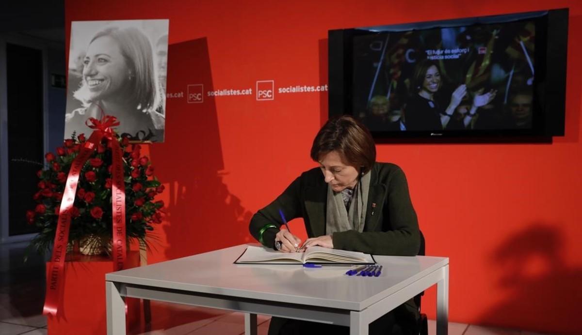 Carme Forcadell,presidenta del Parlament de Catalunya.
