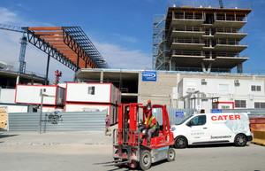 El Finestrelles Shopping Center d'Esplugues afronta la recta final de les obres
