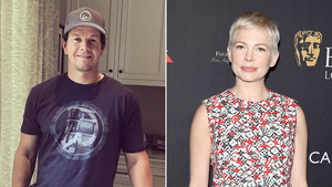 Mark Wahlberg y Michelle Williams.