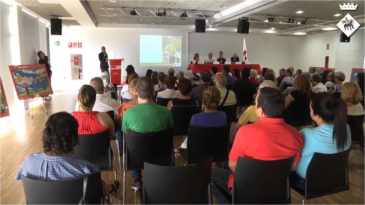 Cruz Roja Viladecans presenta su balance 2016.