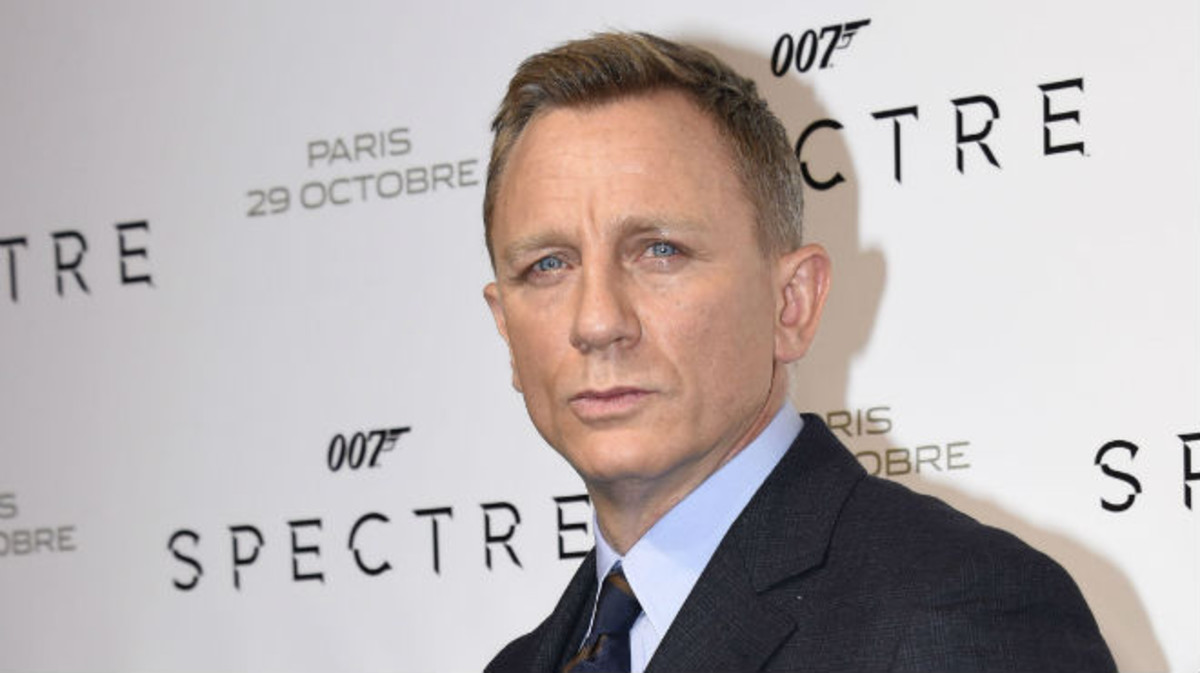 Daniel Craig, a su llegada al estreno de'Spectre' en París, el 29 de octubre del2015.