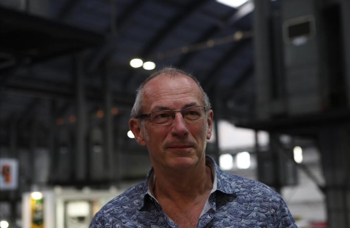 Dave Gibbons, el viernes en el Salón del Cómic.