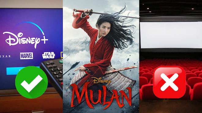 Disney cambia las reglas del juego. Mulan va directa al 'streaming'.
