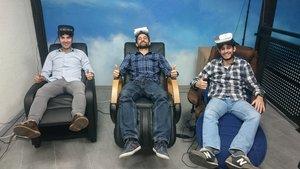 Juanjo Saez, Jorge Serna y Raúl J. Sánchez, fundadores de Woolax. //Woolax