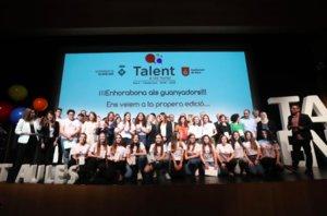 Entrega de premios de la cuarta edición de Talent a les Aules