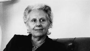 La escritora catalana Mercè Rodoreda.