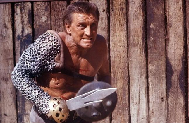Kirk Douglas, en 'Espartaco' (1960), de Stanley Kubrick.