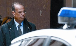 El exdirector general de Caixanova, José Luis Pego, en una de sus comparecencias en los juzgados.