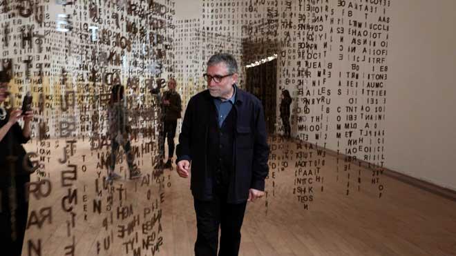 Exposición de Jaume Plensa en Moscú.