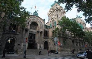 Fachada del Tribunal Superior de Justícia de Barcelona