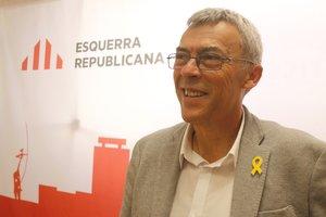 El candidato de ERC enMataró, Francesc Teixidó.