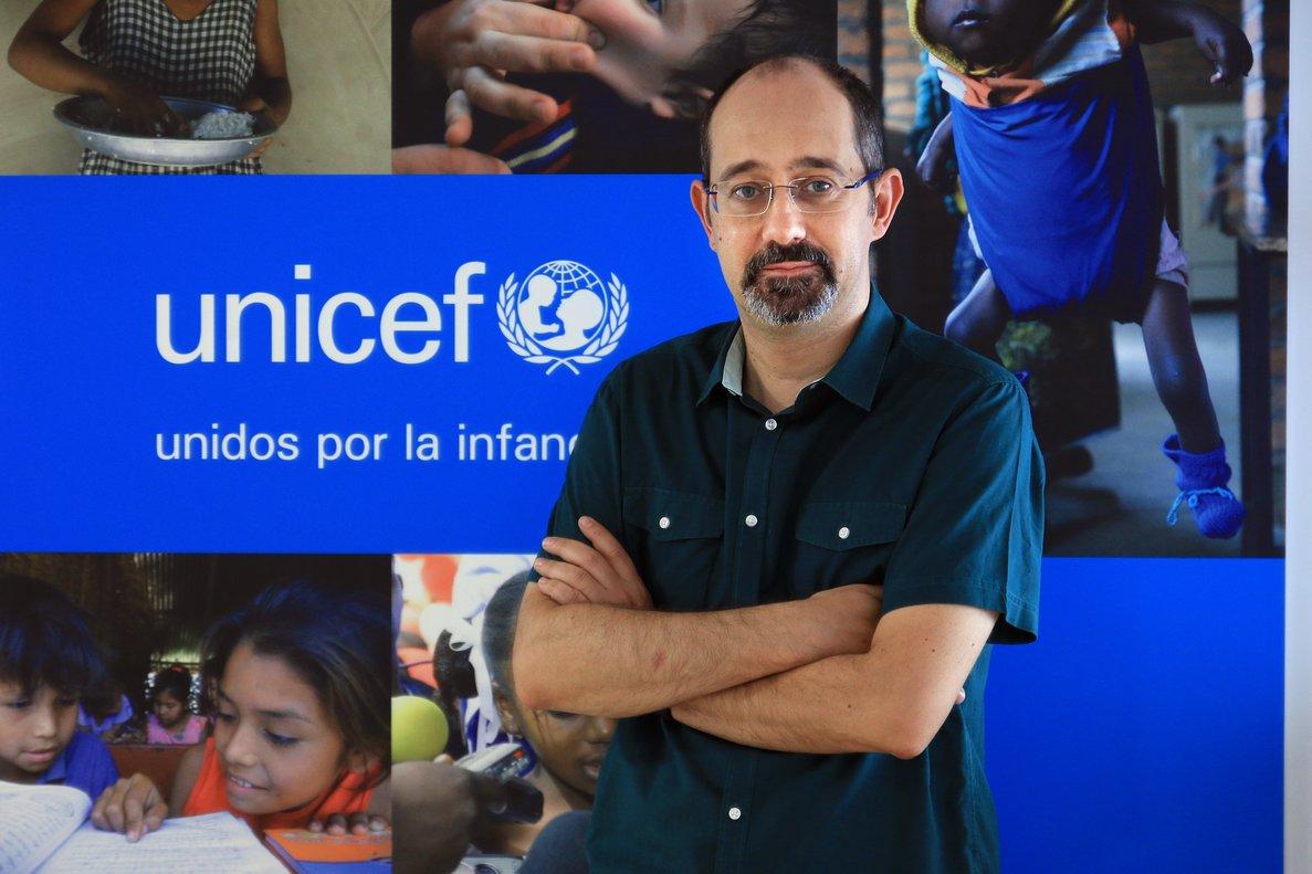 Gabriel González-Bueno es especialista en políticas de infancia de UNICEF Comité Español.