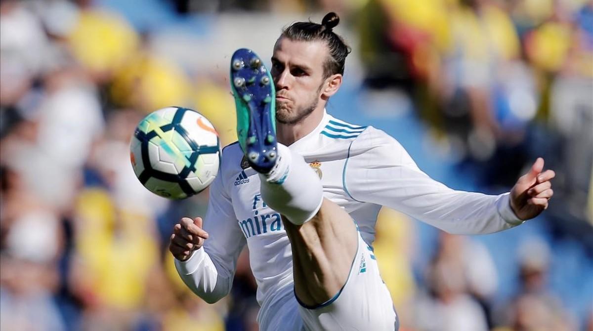 Gareth Bale, autor del 0-1 en el estadio canario.