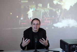 Gerfried Stocker,artista e ingeniero electrónico.