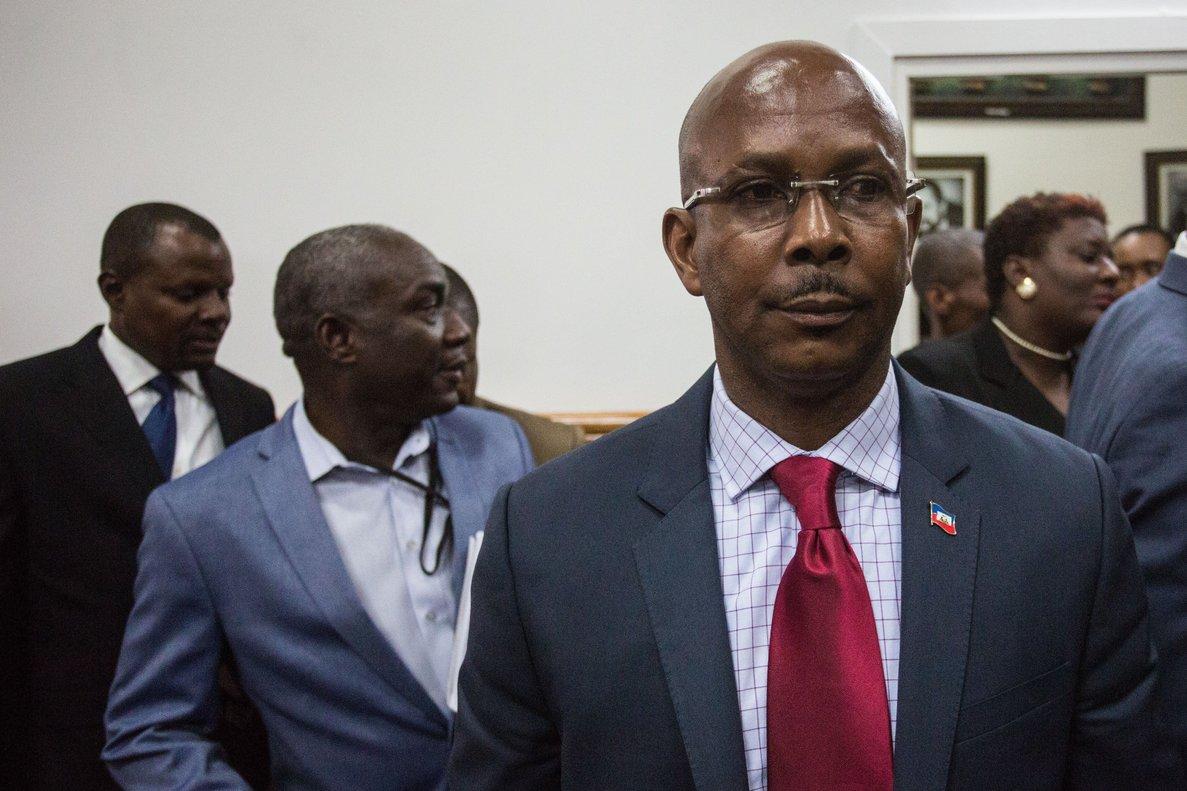Jean-Michel Lapin, exprimer ministro de Haití.