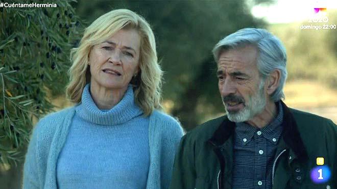 Imanol Arias y Ana Duato en 'Cuéntame...' (TVE-1).