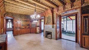 Uno de los salones de la Casa Vicens, en el barrio de Gràcia.