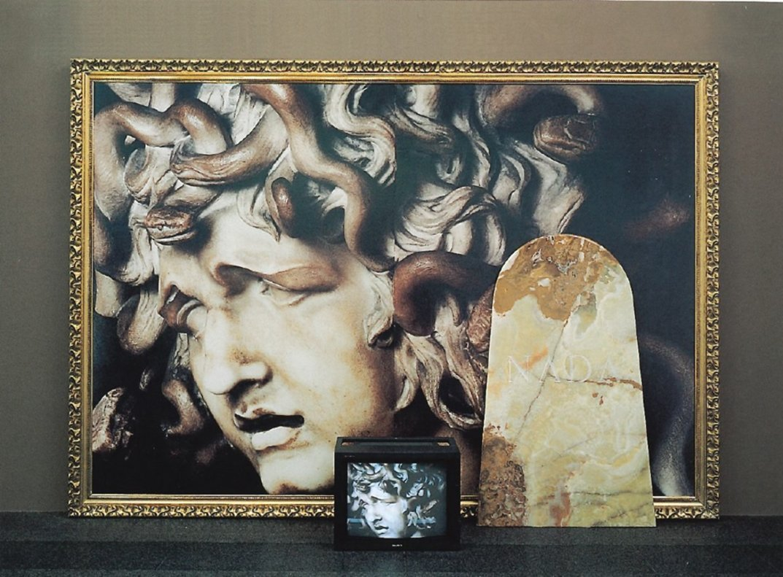 'Analogía', obra de Francesc Abad de 1991, una de las obras de la colección de Rafael Tous.