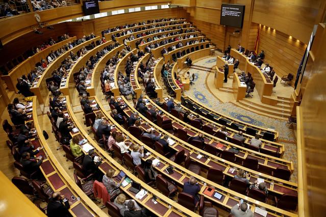 Imagen de una sesión plenaria del Senado.