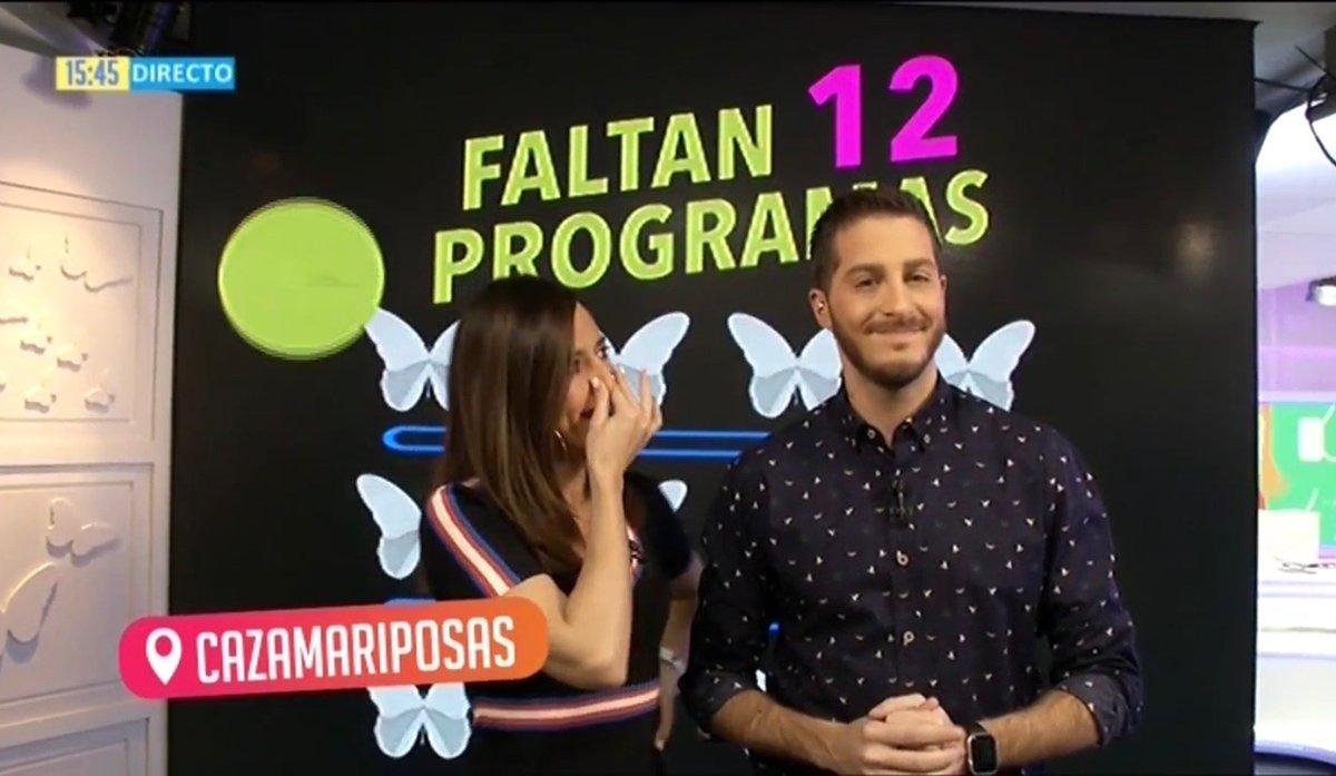 """Nando Escribano y Nuria Marín se emocionan al anunciar el fin de 'Cazamariposas': """"Nos enteramos ayer"""""""
