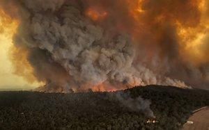 Los fuegos han emitido unas 349 millones de toneladas de dióxido de carbono a la atmósfera en los últimos cuatro meses.