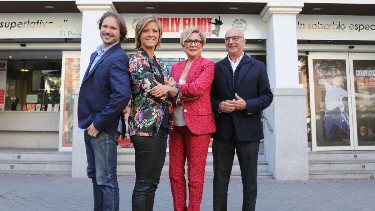 Inés Ballester y Jota Abril presentarán los Premios Iris de la Academia de TV el lunes en Telemadrid - El Periódico