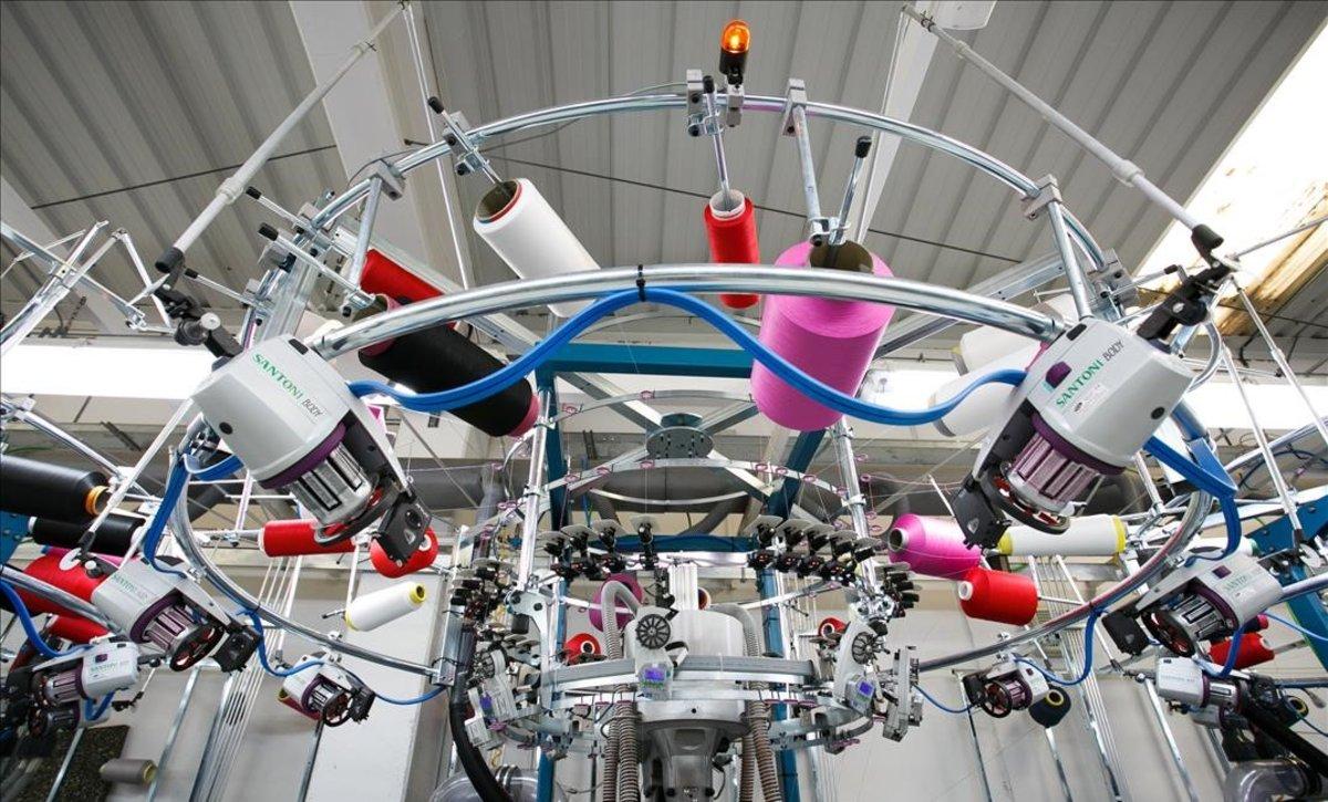 La nueva planta de Hoko, fabricante de ropa deportiva, en Malgrat de Mar.