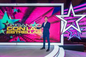 Jaime Cantizano, presentador del nuevo programa de TVE Jugando con las estrellas.