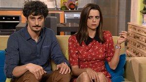 Javier Maroto (Antonio Pagudo) y Lola Trujillo (Macarena Gómez) en La que se avecina.