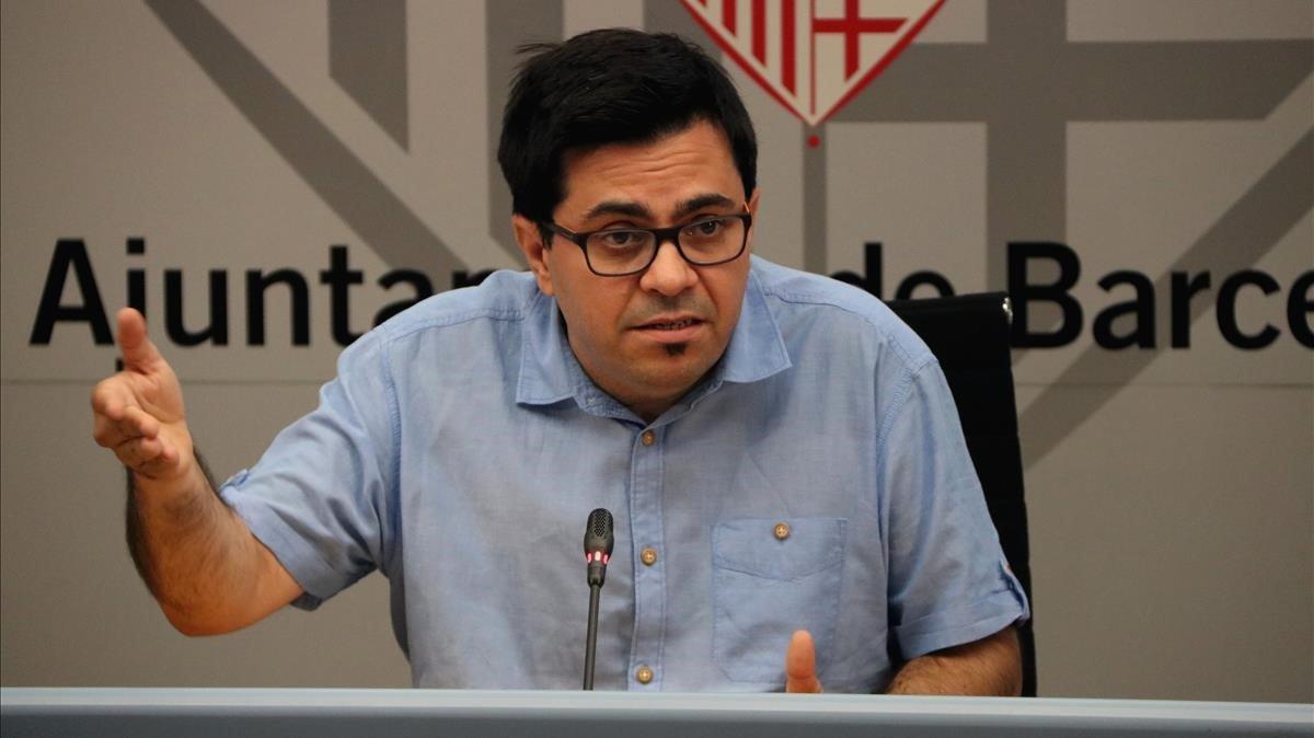 Pisarello es perfila com el candidat dels comuns a les generals
