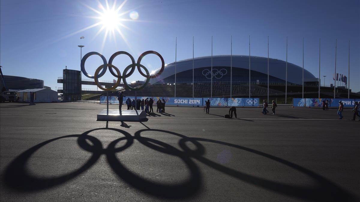 El Bolshoi Arena de Sochi, poco antes de los JJOO de Invierno del 2014.