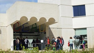 La Fundació Joan Miró, en Montjuïc.