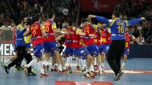 Espanya conquista el seu primer Europeu d'handbol al derrotar Suècia amb un colossal Sterbik (29-23)