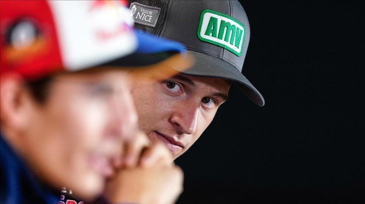 Márquez logra por primera vez la 'pole' en Motegi