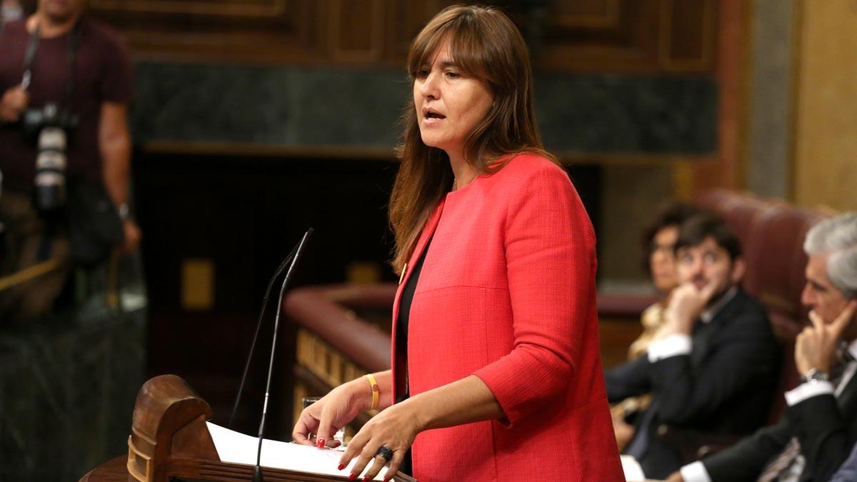 Laura Borràs (JxCat): ERC siempre tiene presente lo que hacía CiU. Quizá quieren parecerse.