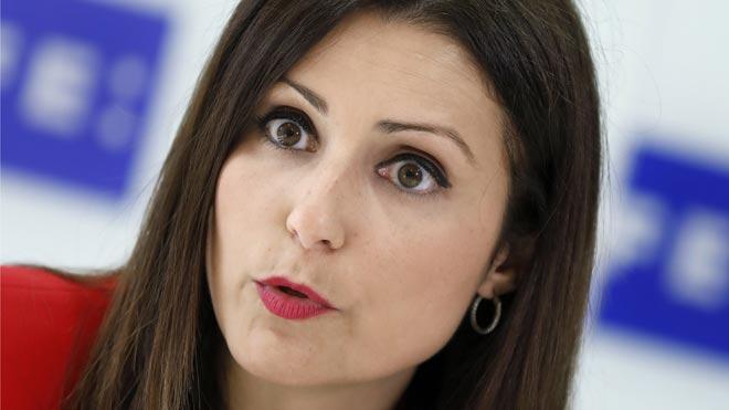 Lorena Roldán (Ciudadanos) tacha a Iceta de socorrista del procés.