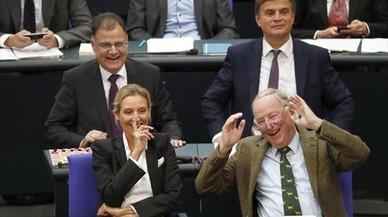 Neonazis en el Parlamento alemán