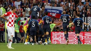 Francia toca el cielo ante la orgullosa Croacia