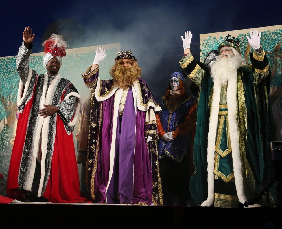 Los Reyes en Sant Boi.