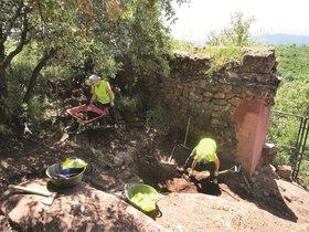 Los trabajos de restauración iniciados forman parte de la fase 0 del Plan Director del castillo de Eramprunyà de Gavà