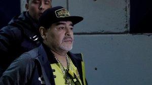 Maradona, en una imagen reciente.