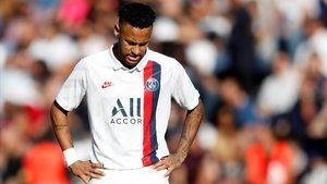 Hostil rebuda a Neymar, que dona el triomf al PSG amb un golàs