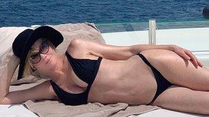 Melanie Griffith presume de cuerpo en Eivisa.