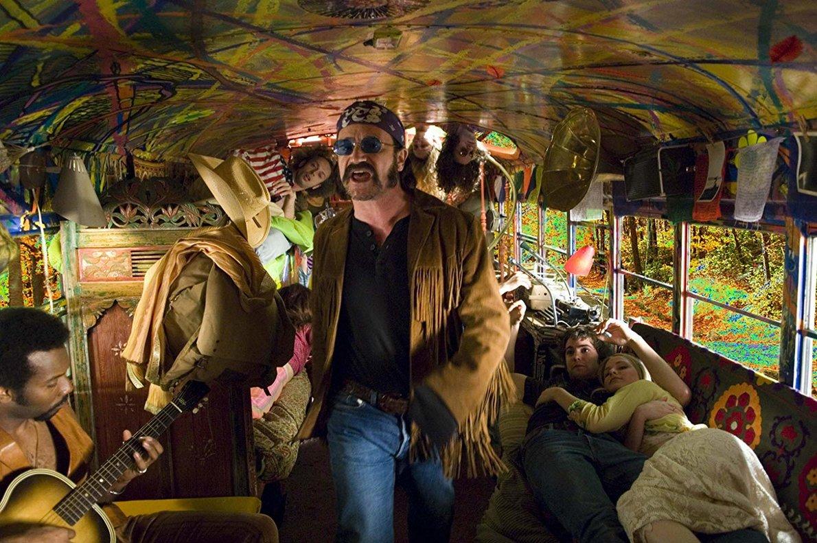 Joe Cocker en 'Across the universe', una original fantasía sobre lascanciones de los Beatles.