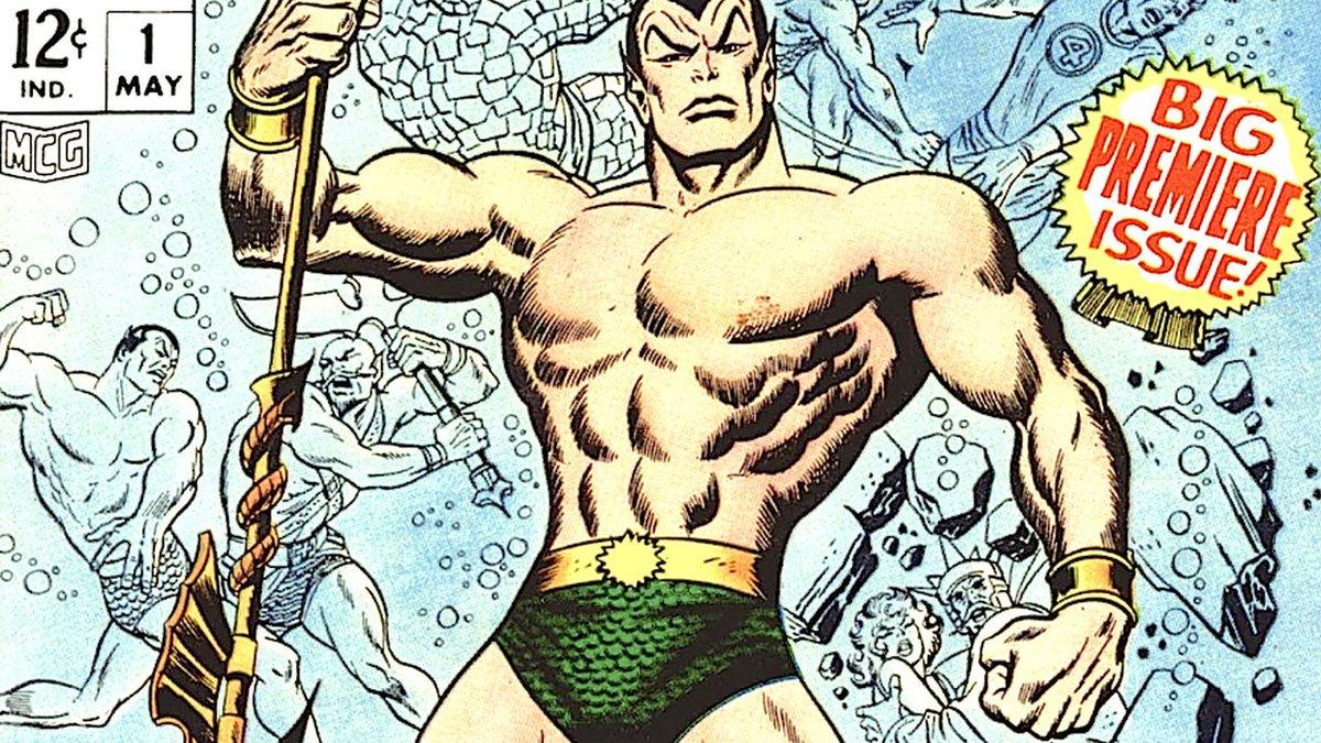 Namor, en una de las portadas del cómic de Marvel