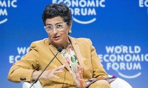 La nueva ministra de Exteriores, Arancha González Laya.