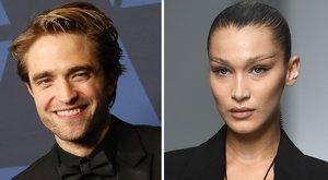 Robert Pattinson i Bella Hadid, els més guapos del món