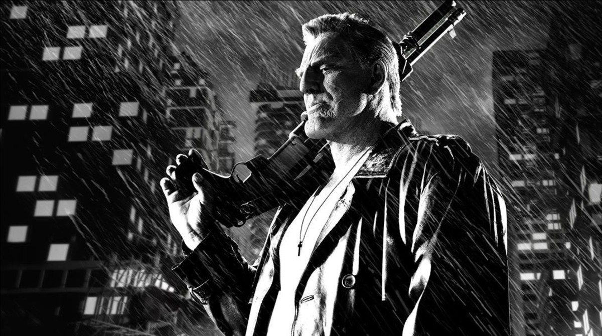 Mickey Rourke, en la adaptación cinematográfica del cómic Sin City.